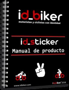 Manual etiqueta identificativa para ciclistas y motoristas